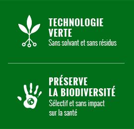 Technologie verte qui préserve la biodiversité